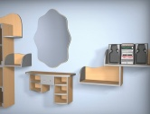 Детская комната (Модель 43)