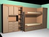 Детская комната (Модель 54)