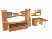 Детская комната (Модель 56)